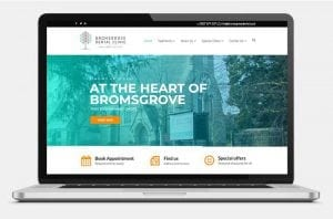 Bromsgrove Dental Clinic laptop Bromsgrove Dental Clinic