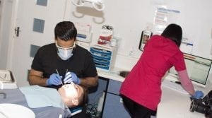 Arun supported by Vicky, bromsgrove dental